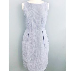 Brooks Brothers Seer Sucker Sheath Dress